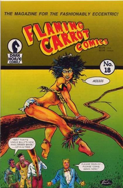 Flaming Carrot Comics