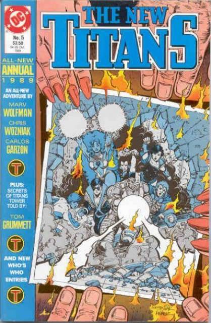 The New Titans Annual