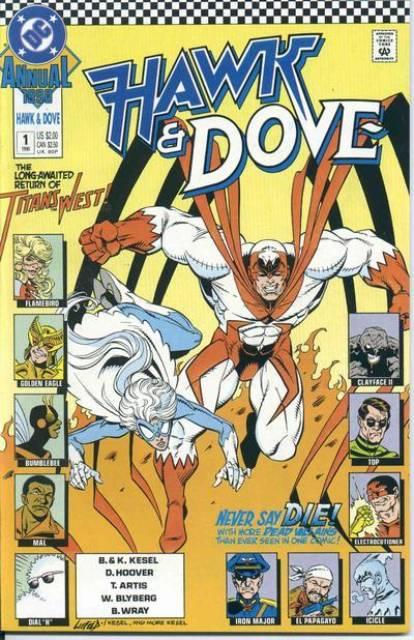 Hawk and Dove Annual