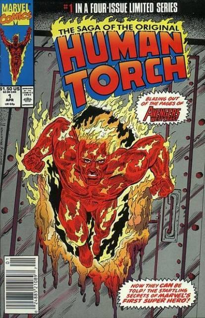 Saga of the Original Human Torch