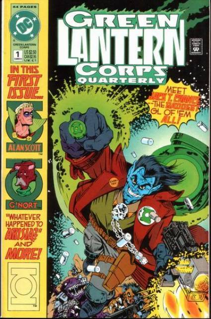 Green Lantern Corps Quarterly