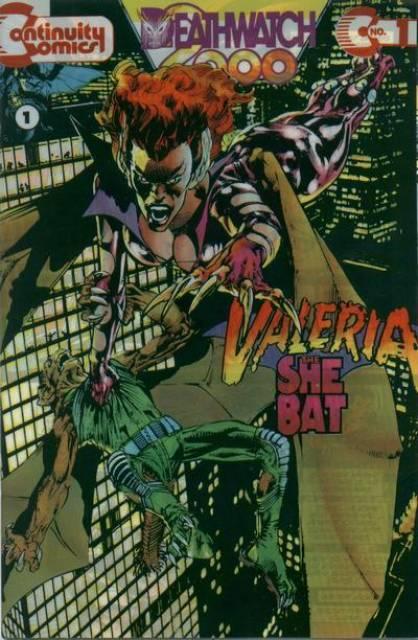 Valeria, the She-Bat