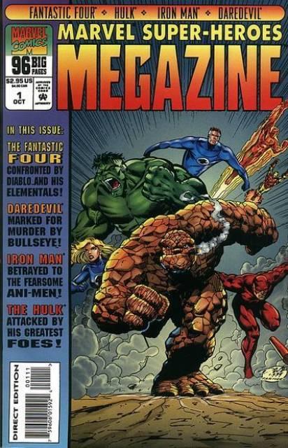 Marvel Super-Heroes Megazine