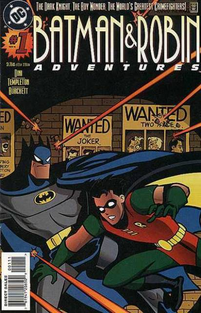 The Batman and Robin Adventures