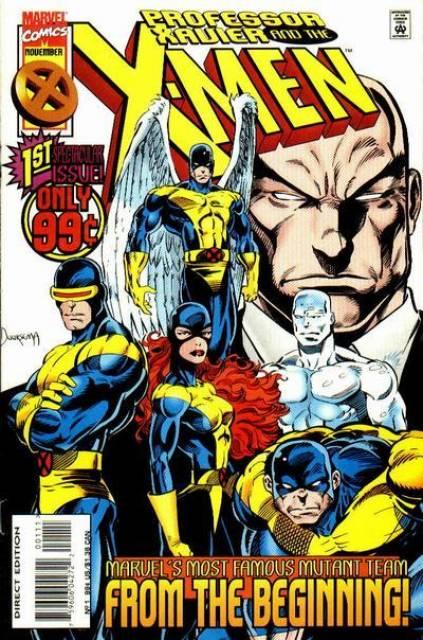 Professor Xavier and the X-Men