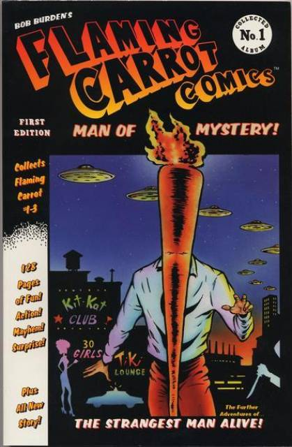 Flaming Carrot Comics Collected Album