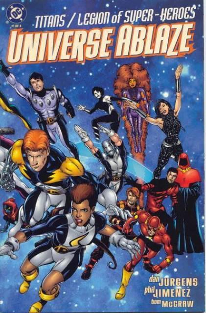 Titans/Legion of Super-Heroes: Universe Ablaze