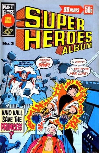 Super Heroes Album