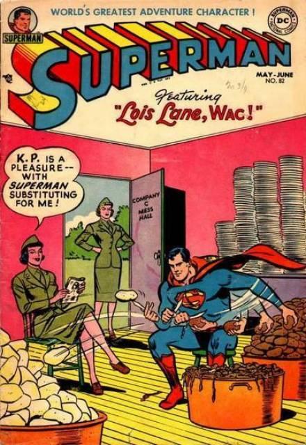 Lois Lane, WAC!