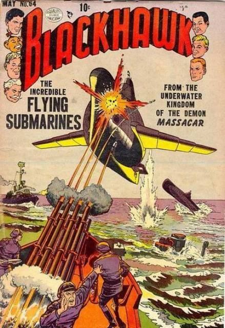 The Incredible Flying Submarines