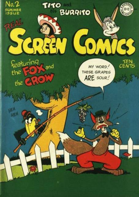 Real Screen Comics