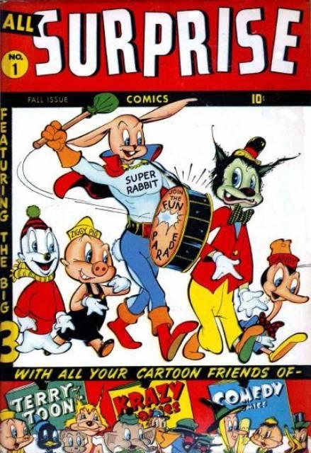 All Surprise Comics