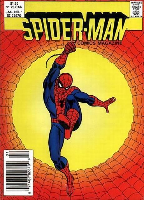 Spider-Man Comics Magazine
