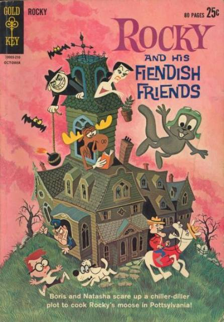 Rocky and His Fiendish Friends
