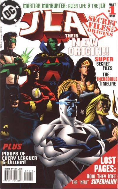 JLA Secret Files and Origins