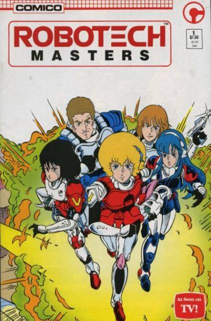 Robotech Masters