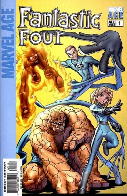 Marvel Age Fantastic Four