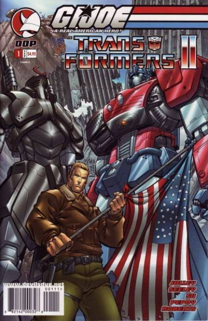 G.I. Joe vs. The Transformers, Vol. II