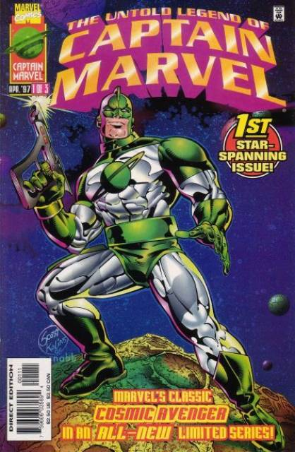 Untold Legend of Captain Marvel