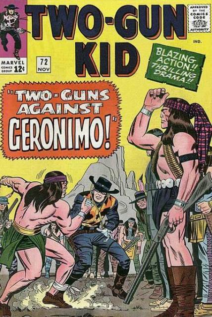 Two Guns Against Geronimo