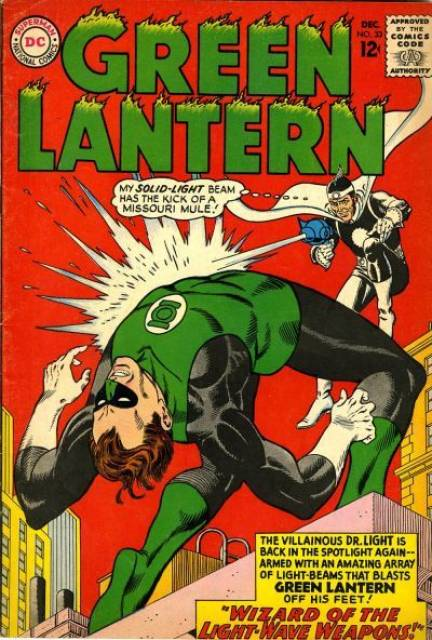 Wizard Of The Light-Wave Weapons!; The Disarming of Green Lantern!