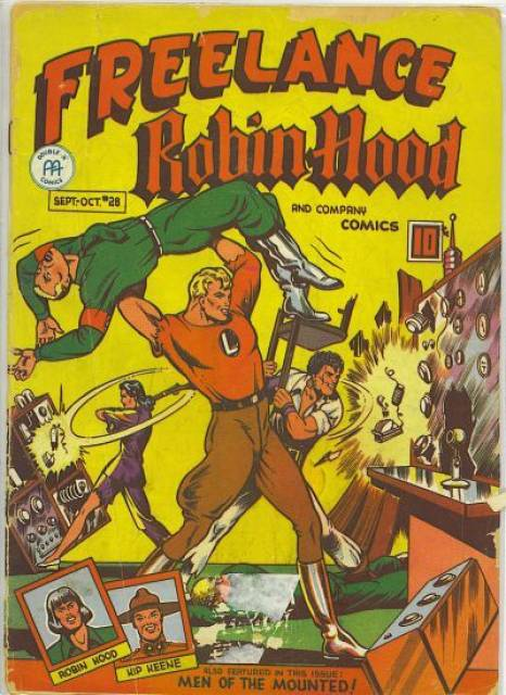 Freelance Robin Hood and Company Comics