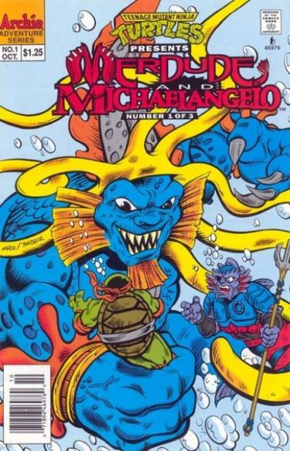 Teenage Mutant Ninja Turtles Presents: Merdude