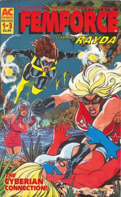 FemForce Special: Rayda The Cyberian Connection
