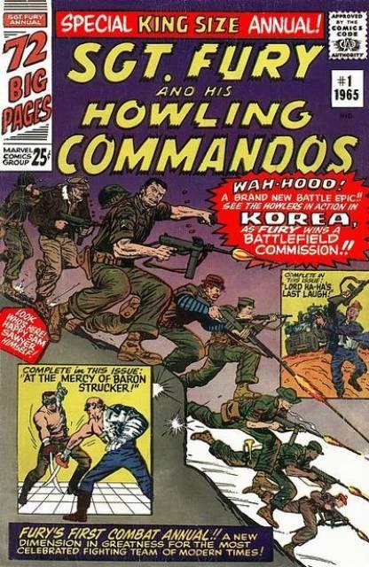 Sgt. Fury Annual