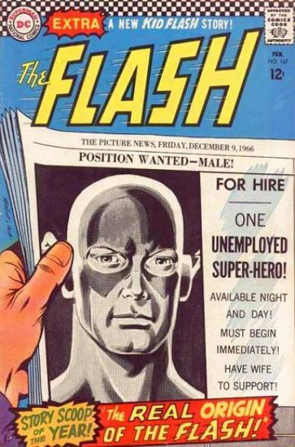 The Real Origin Of The Flash!