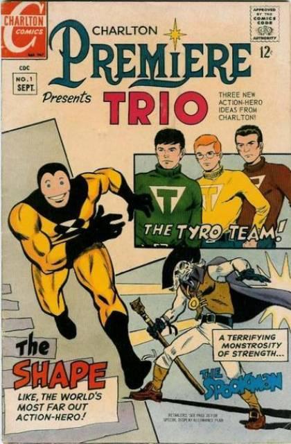 The Tyro Team!; The Shape; The Spookman