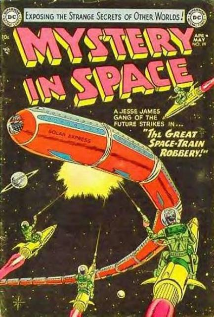The Great Space-Train Robbery