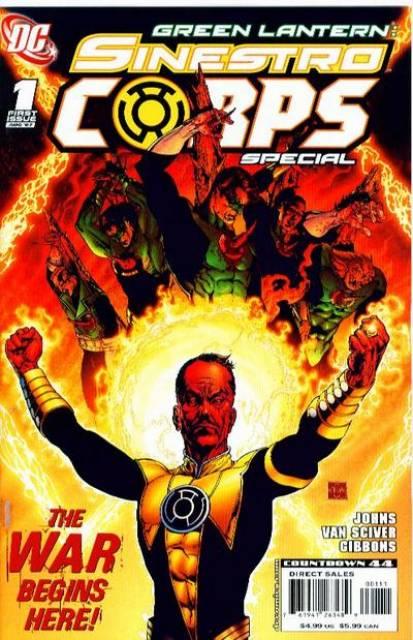 Sinestro Corps Special