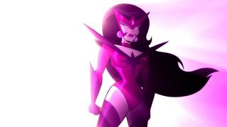 Carol as the queen of the Star Sapphires in Batman: The Brave and The Bold