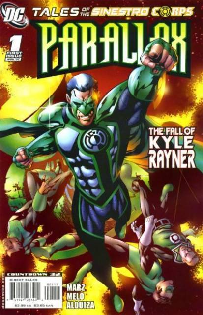 Tales of the Sinestro Corps: Parallax