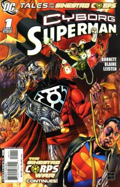 Tales of the Sinestro Corps: Cyborg-Superman
