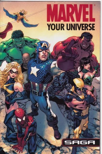 Marvel: Your Universe Saga