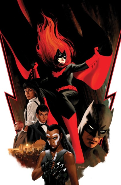 Batwoman #1 by Steve Epting