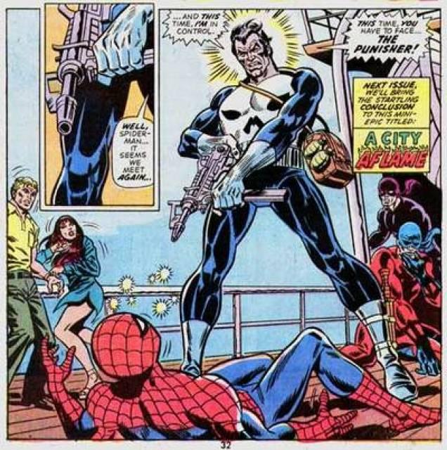 Punisher Vs. Spider-Man