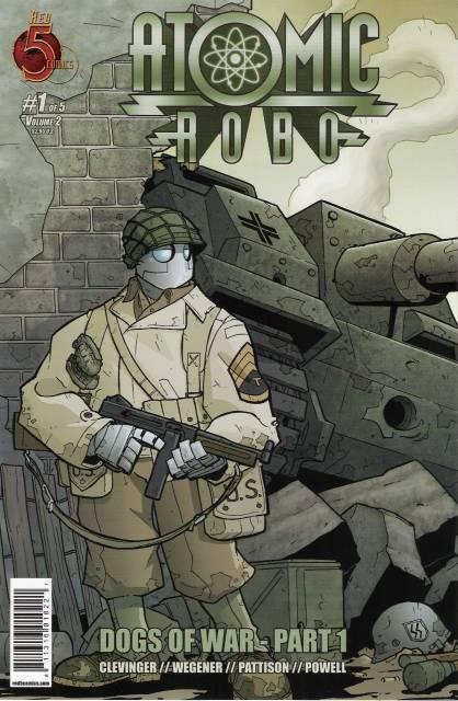 Atomic Robo: Dogs Of War