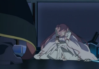 Euphemia submits as Lelouch stands in shock