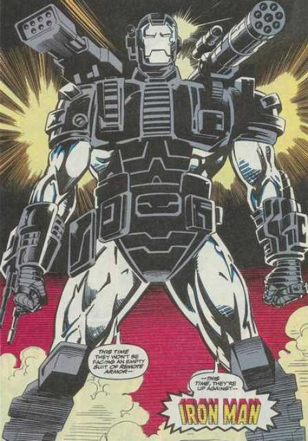 Tony's War Machine