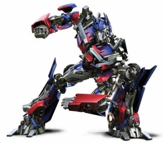 Optimus as he appeared in the 2007 film