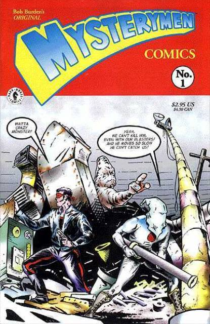 Bob Burden's Original Mysterymen