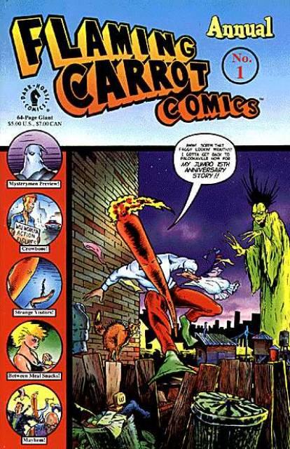 Flaming Carrot Comics Annual