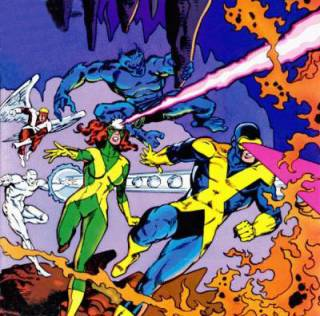 The original X-Men as X-Factor