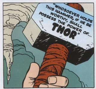 Mjolnir's inscription.