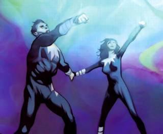 Northstar and Aurora during the Secret Invasion