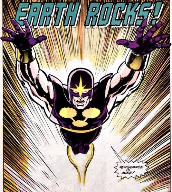 Garthan as Super-Nova