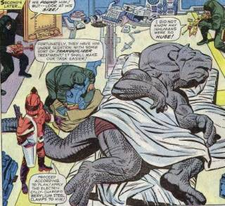 Seeker abducts Dragon Man.